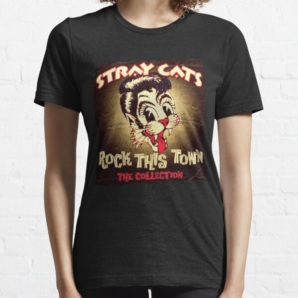 La collection The Stray Cat Band Art Gift T-shirt essentiel