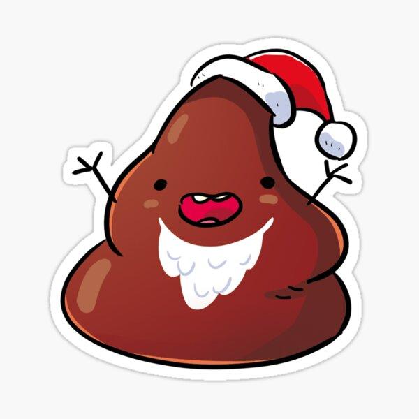 mERDY cHRISTMAS Sticker