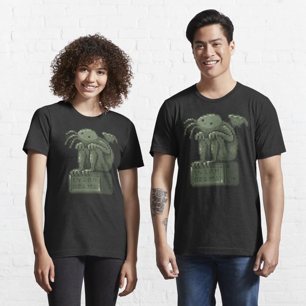 Pixel Cthulhu Essential T-Shirt