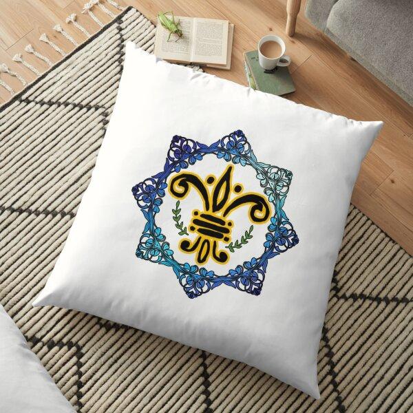 Colourful Art   Floor Pillow
