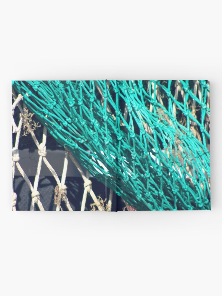 Alternate view of Fishing nets in Whitstable Hardcover Journal