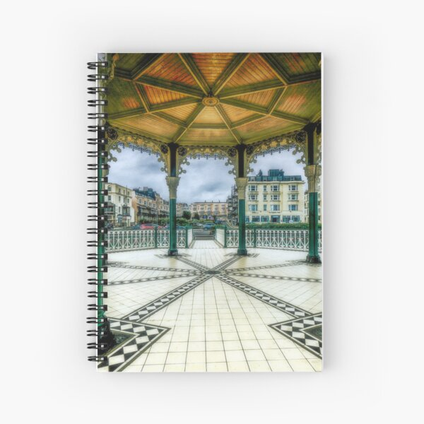 On The Bandstand Spiral Notebook