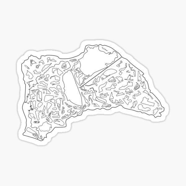 All Classic Race Tracks Sticker