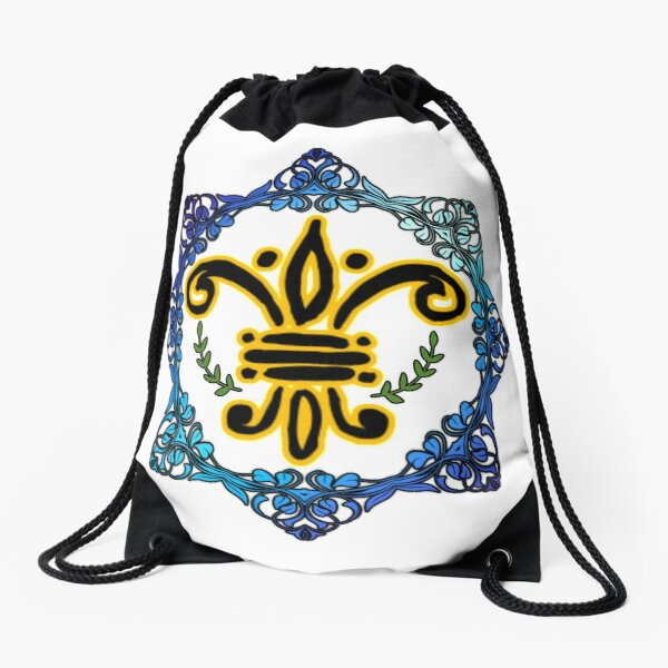 Colourful Art   Drawstring Bag