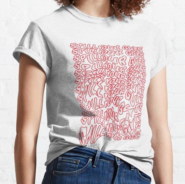 Derrame su diseño de tripas Camiseta clásica