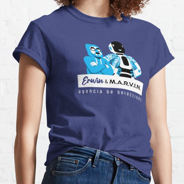 Erwin & M.A.R.V.I.N. Classic T-Shirt