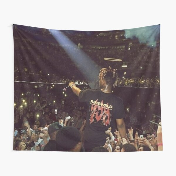 Juice WRLD legendary live concert picture photo poster design Tapestry