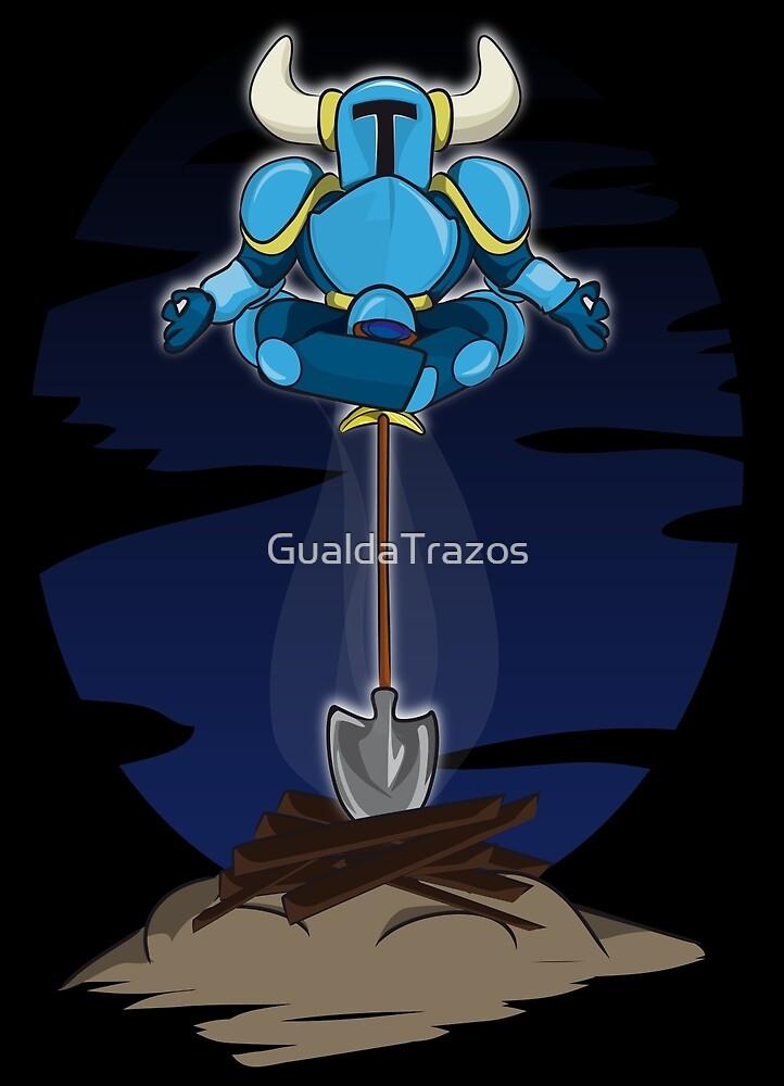Shovel Yoga Knight by GualdaTrazos