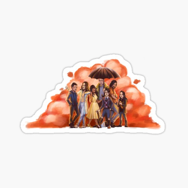 The Seven Brothers Sticker