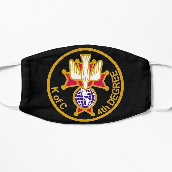 knights of columbus 4th degree Flat Mask
