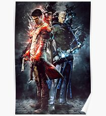 DmC Devil May Cry Twin brothers Poster