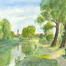 Templiner Kanal - Uckermark von Jens-Uwe Friedrich