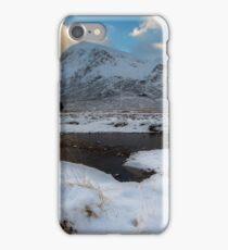 Early morning light at Lagangarbh Hut Glencoe Scottish Highlands iPhone Case/Skin
