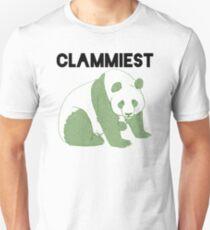 Clammiest Panda (Green) T-Shirt