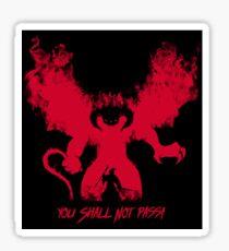 Durin's Bane Sticker