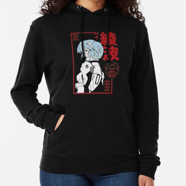 Rei Ayanami  Red Style  Lightweight Hoodie