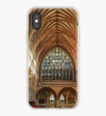 Beautiful Arches of Exeter Cathedral, Devon UK iPhone Case
