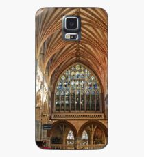 Beautiful Arches of Exeter Cathedral, Devon UK Case/Skin for Samsung Galaxy