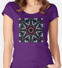 And the Sky Tore Asunder Women's Fitted Scoop T-Shirt