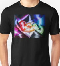 Colorful Geometric OpArt Unisex T-Shirt
