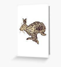 Run Rabbit Run Greeting Card
