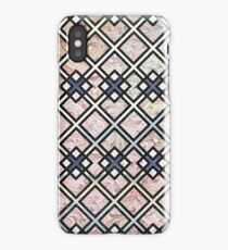 Texture Meets Patterned Color iPhone Case/Skin