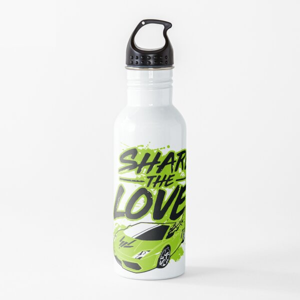 Youth Share The Love Stephen Sharer Youth Adult shirt Youtuber shirt Stephen Sharer Sharerghini shirt Water Bottle