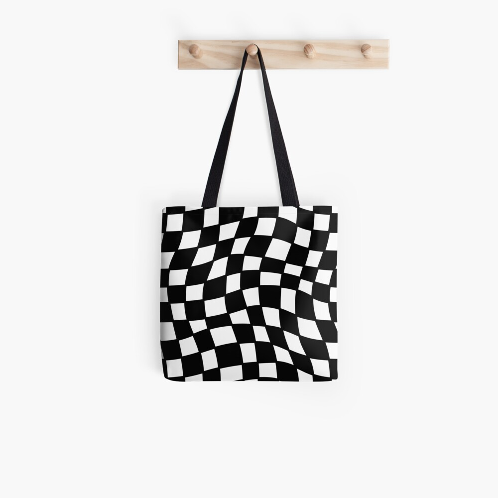 Geometric Visual Illusion  Tote Bag