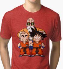 Camiseta de tejido mixto La tripulación de Muten Roshi