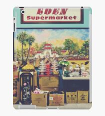 eden supermarket iPad Case/Skin