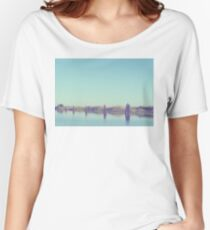 water and pilings Women's Relaxed Fit T-Shirt