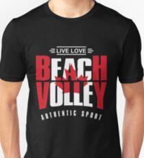 Live Love Beach Volley Canada T-Shirt