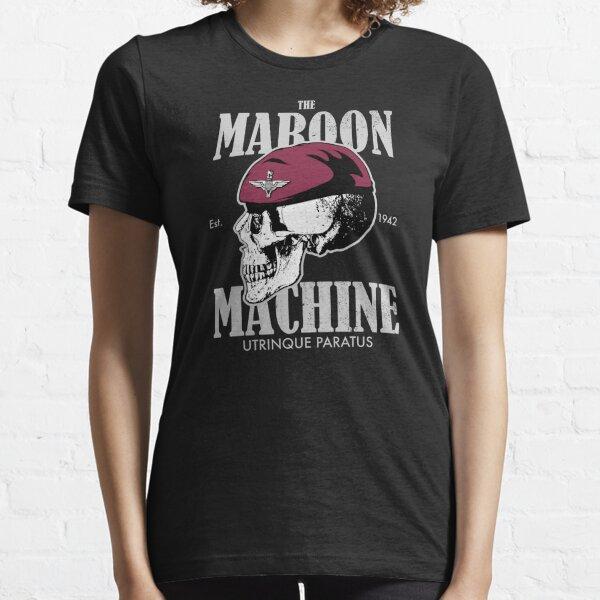 The Maroon Machine - Parachute Regiment (distressed) Essential T-Shirt