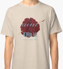 Pi Phi Carnation  Classic T-Shirt