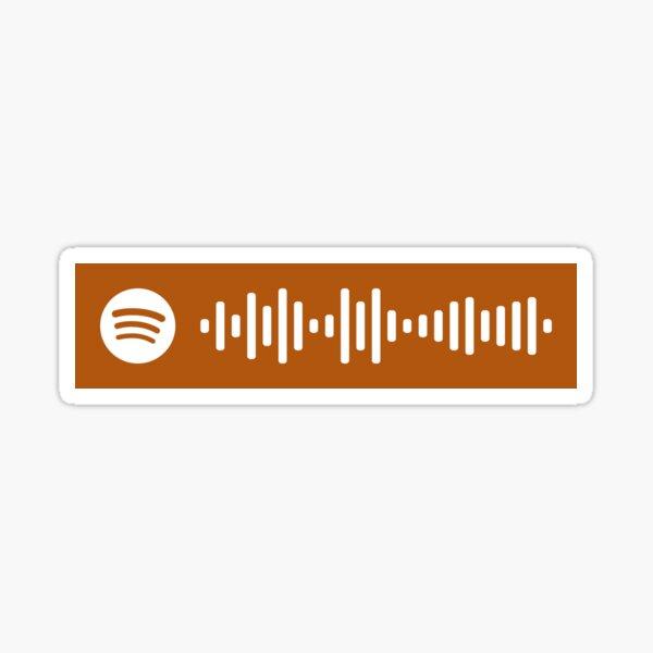 Sparks por Coldplay Spotify Code Pegatina