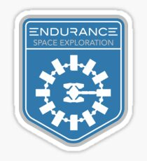Endurance Mission Patch Sticker