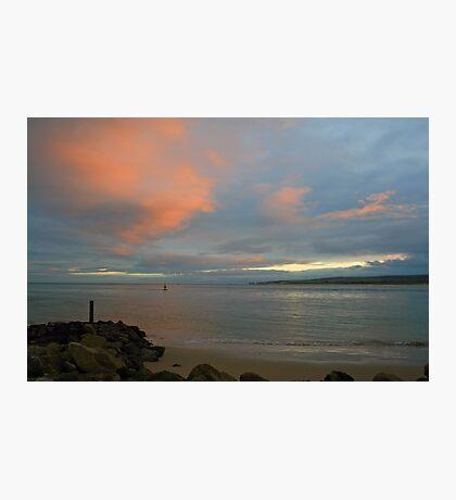 Ballard Down from Sandbanks Photographic Print