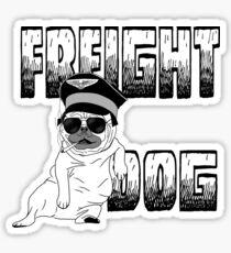 Freight Dog Sticker