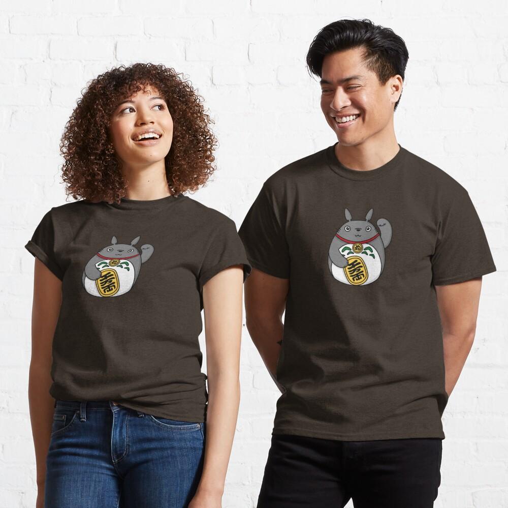 Lucky Forest Spirit, Luck Cat Classic T-Shirt