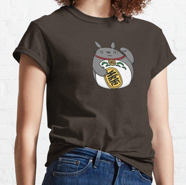 Esprit de la forêt chanceux, chat chanceux T-shirt classique
