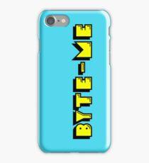 Retro Gaming Byte Me T Shirt iPhone Case/Skin
