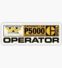 Powerloader Operator Sticker