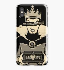 God Save The Evil Queen iPhone Case/Skin