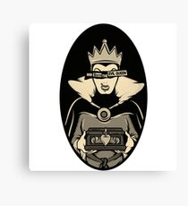 God Save The Evil Queen Canvas Print