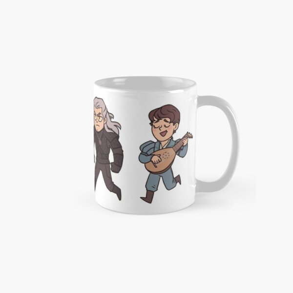 Geralt and Jaskier Classic Mug