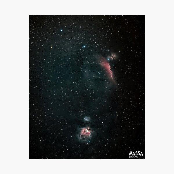 The magnificient Orions Belt Photographic Print
