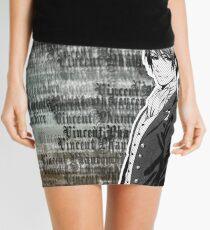 Vincent Phantomhive Lettering Mini Skirt