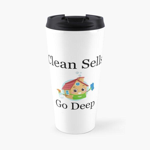 Clean Houses Sell Do A Deep Clean Travel Mug