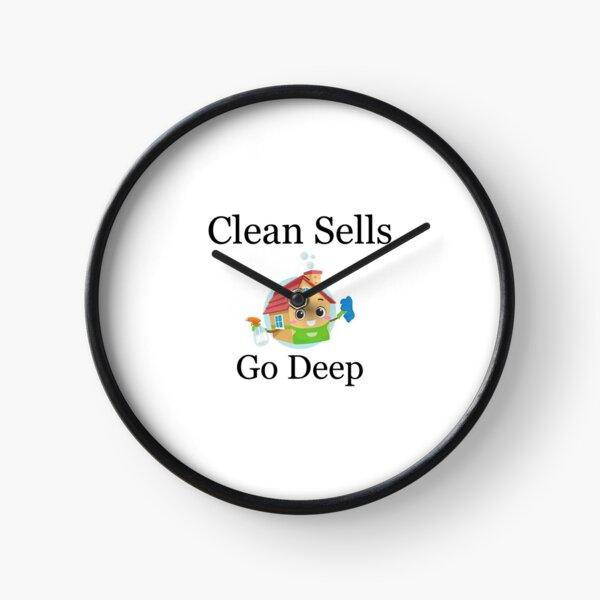 Clean Houses Sell Do A Deep Clean Clock