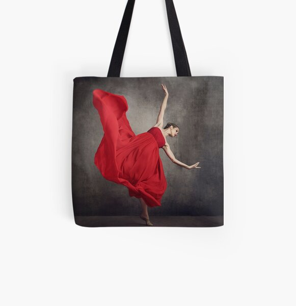 red is passion  All Over Print Tote Bag